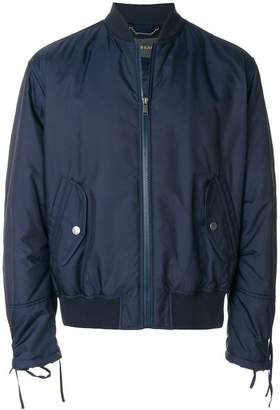 Versace zip-embellished bomber jacket