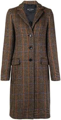 Etro patterned single breasted coat