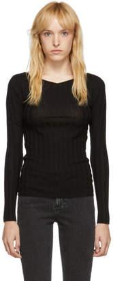Totême Black Toury Sweater