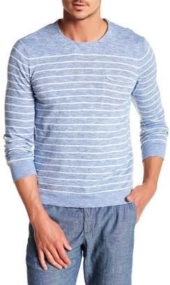 Benson Striped Knit Long Sleeve Tee
