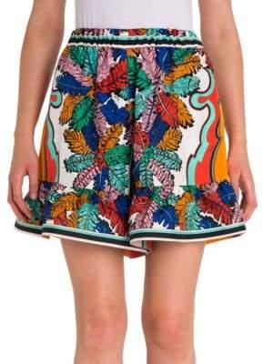 ... Emilio Pucci Ruffle Hem Shorts