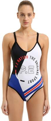 P.E Nation Point Break One Piece Swimsuit