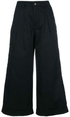 Societe Anonyme cropped wide leg trousers