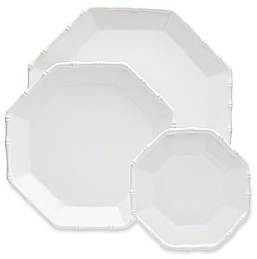 Jonathan Adler Catherine 3-pc. Bamboo Trim Nested Platter Set