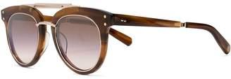 Garrett Leight Laurel sl 50 chunky aviator sunglasses