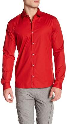 BOSS Ero Long Sleeve Extra Slim Fit Shirt