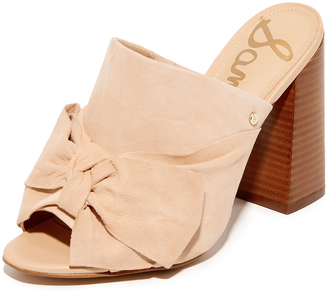 Sam Edelman Yumi Bow Mules $120 thestylecure.com