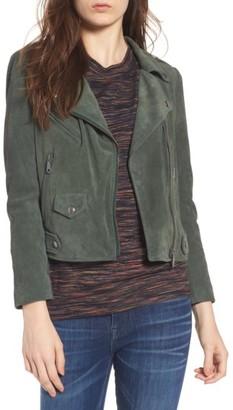 Women's Rebecca Minkoff Wes Suede Moto Jacket