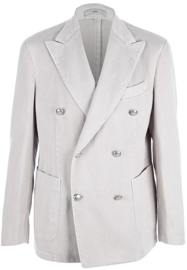 Boglioli double breasted blazer