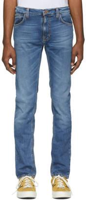 Nudie Jeans Blue Thinn Finn Jeans