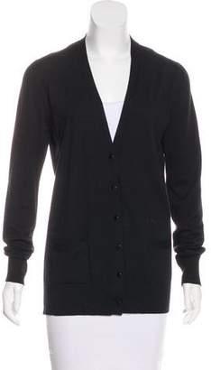 Proenza Schouler Long Sleeve Wool Cardigan