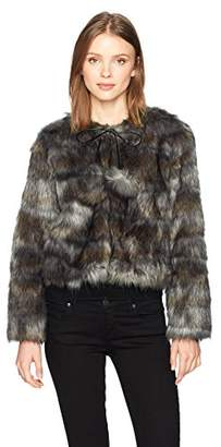 Ramy Brook Women's Camo Faux Fur Krissy Jacket