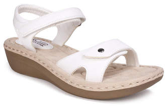 White Mountain Cliffs by Charlee Ankle Strap Comfort Sandals Women Shoes