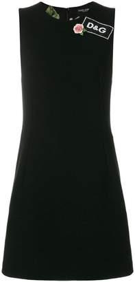Dolce & Gabbana logo detail dress
