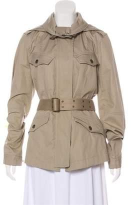Burberry Woven Utility Jacket