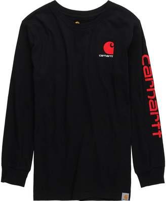 Carhartt Logo Long-Sleeve T-Shirt - Boys'