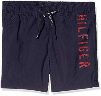Tommy Hilfiger Boy's Medium Drawstring Swim Shorts,(Manufacturer Size: 14-15)