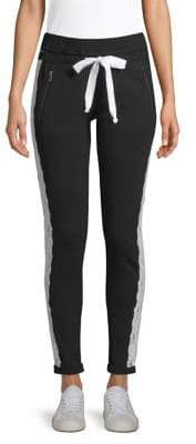 The Kooples Lace-Stripe Jogging Trousers