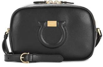 Salvatore Ferragamo City Goncho Camera leather shoulder bag