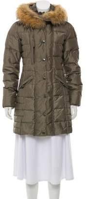Parajumpers Fur Trim Down Coat