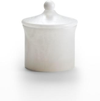 Labrazel Alisa Alabaster Bath Canister, White