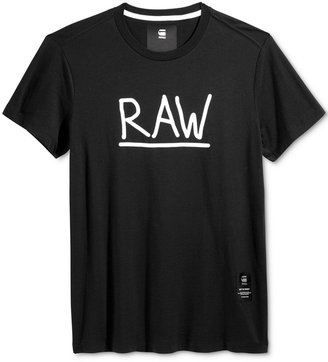 G-Star RAW Men's Graphic-Print T-Shirt $45 thestylecure.com