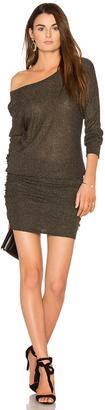 Michael Stars Shirred Mini Dress $118 thestylecure.com