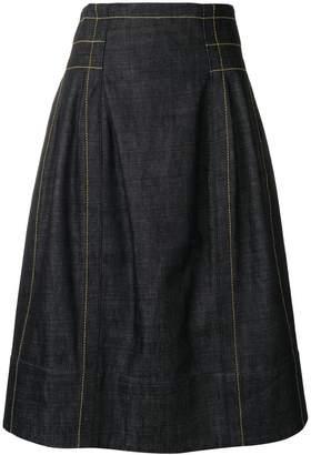 Marni high waisted full skirt