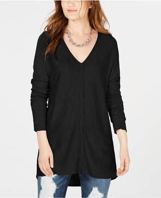 INC International Concepts I.n.c. V-Neck Sweater Tunic