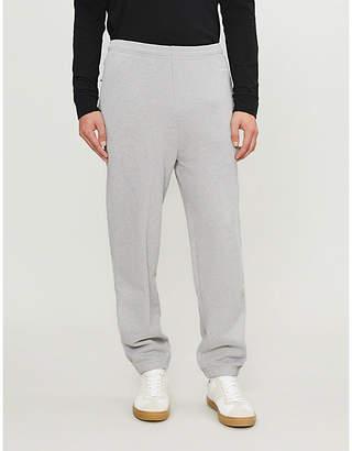 Sandro Mid-rise drop crotch jogging bottoms