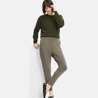 Uniqlo Women's Heattech Stretch Ankle-length Pants (online Exclusive)