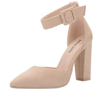 27c652e877f Mila Louise Lady (BERYL-08 D Orsay Classic Ankle Strap Elegance Platform  Lady