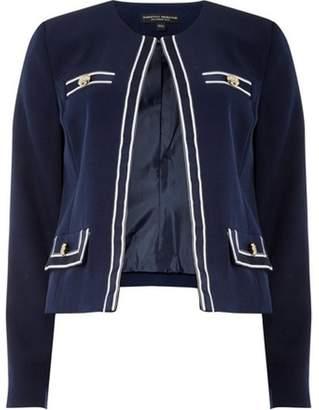 Dorothy Perkins Womens Navy Riviera Boxy Jacket
