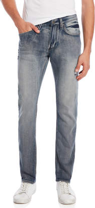 Buffalo David Bitton Blasted Ash-X Skinny Stretch Jeans