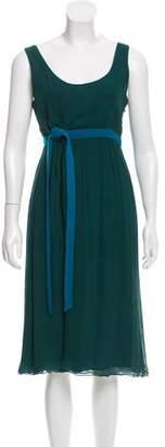 Schumacher Silk Midi Dress