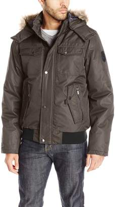 Buffalo David Bitton by David Bitton Men's Brushed Radiance Hooded Jacket