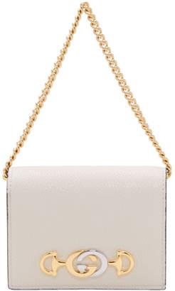 Gucci Off-White Zumi Card Case Bag