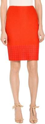 St. John Caris Knit Pencil Skirt