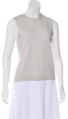 Alberta Ferretti Sleeveless Wool Knit Top