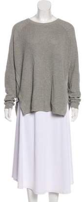 Barbara Bui Asymmetrical Long Sleeve Sweater