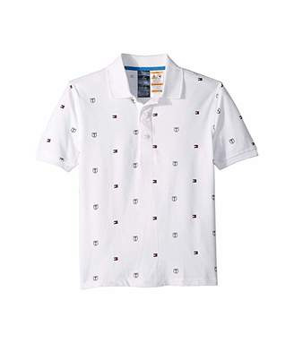 469d106364bb0 Tommy Hilfiger Adaptive Polo Shirt with Full Magnetic Button Closure  (Little Kids/Big Kids