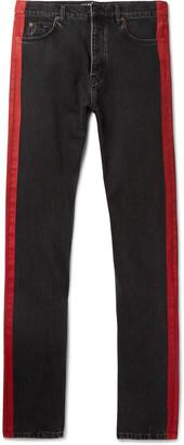 Balenciaga Slim-Fit Denim Jeans $565 thestylecure.com