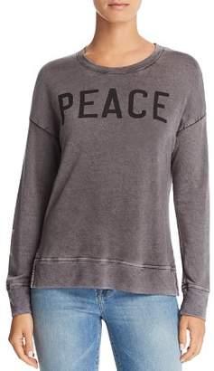 Sundry Peace High/Low Sweatshirt