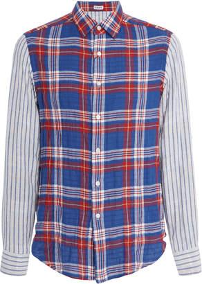 Loewe Checked Cotton-Blend Shirt