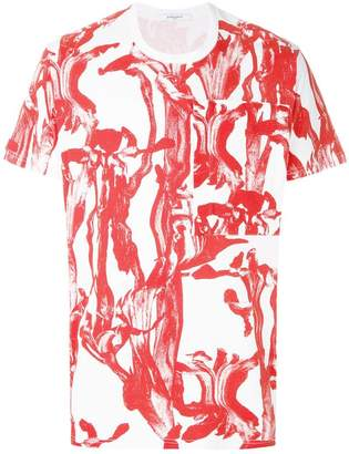 Givenchy printed chest pocket T-shirt