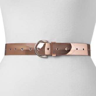 Mudd Women's Iridescent Belt