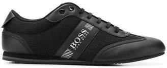 HUGO BOSS side logo panelled sneakers