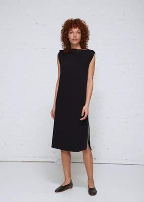 Issey Miyake 132 5 Satin Back Zip Dress