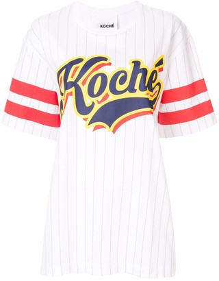 Koché Baseball print T-shirt