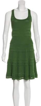 Torn By Ronny Kobo Knit Midi Dress